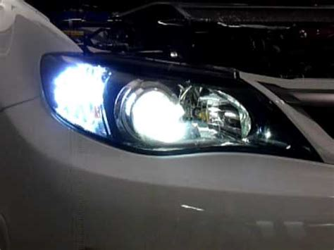 2 color changing turn signal bulbs 08 wrx sti how to