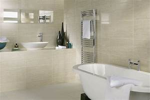 7 small bathroom tile ideas to create a more spacious look for Small bathroom big or small tiles