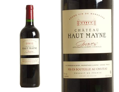 vin chambré achat château haut mayne 2012 wineandco