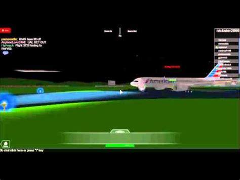 full  american airlines plane crash roblox
