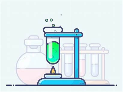 Chemical Reaction Chemicals Animation Clipart Motion Science