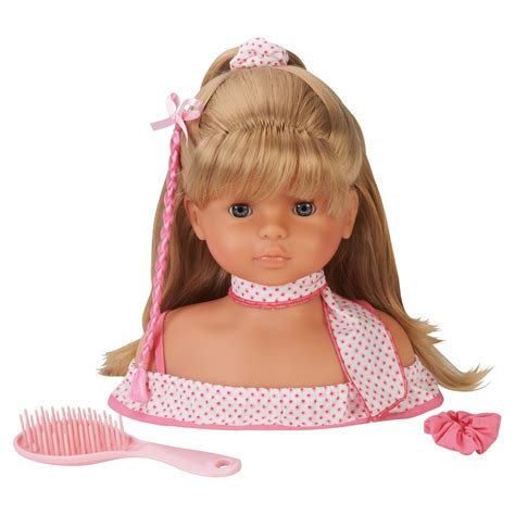 hair styling dolls corolle mademoiselle hair styling doll pretend play