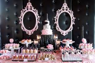 Salon Decorating Ideas For Quinceaneras by Of Images Parties Luxury Elegant Pink White Paris Theme