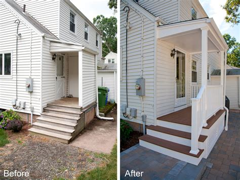 porch renovation  glastonbury ct  bailey carpentry