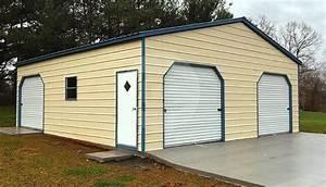 Prefabricated Metal Garage With RTO 30x31x10 With 3