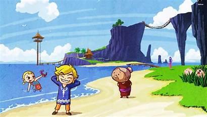 Zelda Waker Wind Legend Background Windwaker Link
