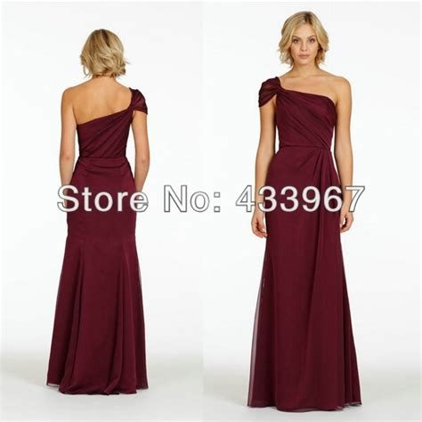 One Shoulder Drape Sleeve Dress - occasions bridesmaid a line draped one shoulder cap sleeve
