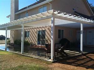 Pergola Attached To House Roof : Beautiful Pergola