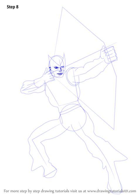 learn   draw hawkeye hawkeye step  step drawing tutorials