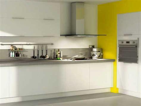 cuisine jaune et blanche cuisine blanche 20 idées déco pour s 39 inspirer deco cool