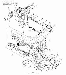 Simplicity 1693412  Ps And 48 U0026quot  Mower Deck Parts Diagram For Hydrostatic Pump