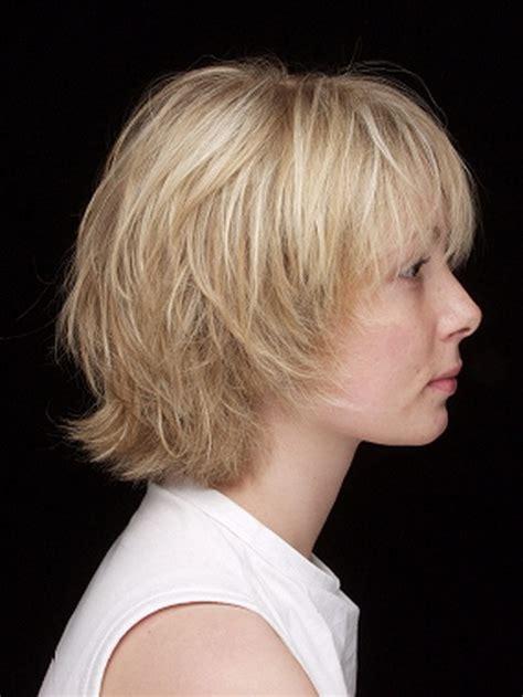 haarschnitt bei dünnem haar frisurenvorschl 228 ge kurzhaarfrisuren