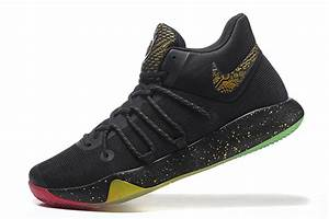 2017 Nike KD Trey 6 Black Gold Rainbow Basketball Shoes ...