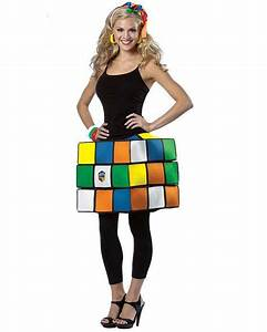 Rubik's Cube Geeky Halloween Costumes to Buy Right Now