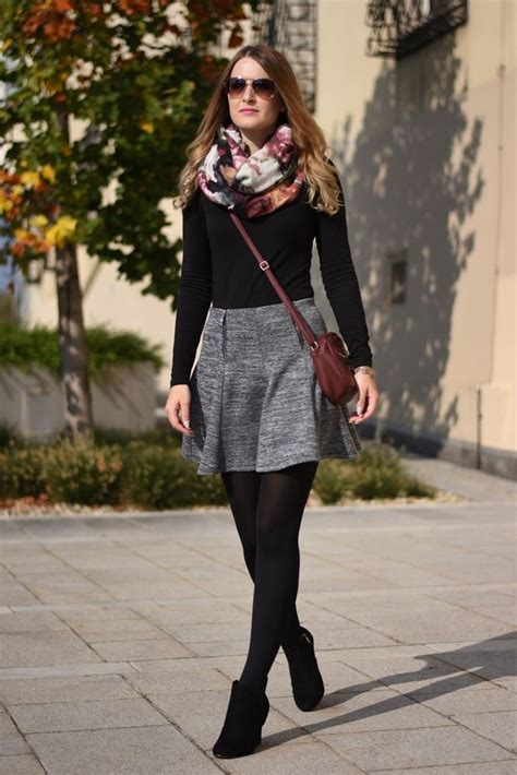 Die besten 17 Ideen zu Graue Rock Outfits auf Pinterest | Midiru00f6cke Grauen rock und Treffen outfit