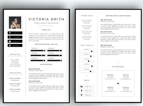 pages resume templates two page resume sle best professional resumes