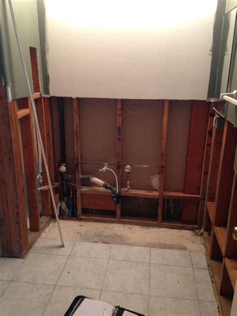 Repairing Bathroom Floor Water Damage. bathroom water