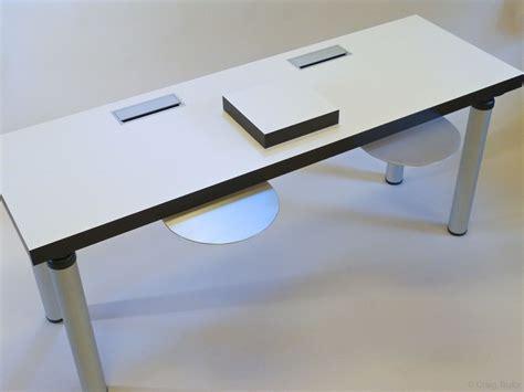 office desk corner insert cable management desk inserts seclusion models desks