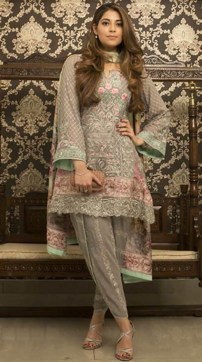 Pakistani Pakistan Latest Wear Tulip Pants Dresses
