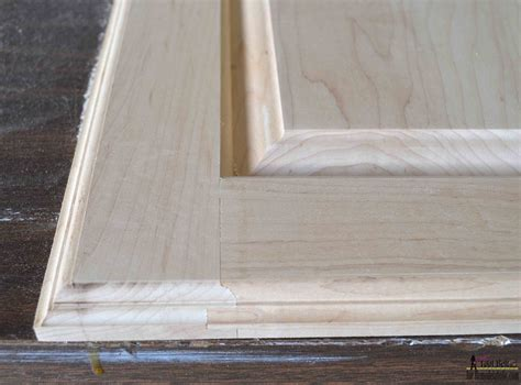 how to make flat panel cabinet doors remodelaholic raised panel cabinet doors