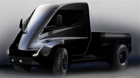 tesla pickup truck tesla pickup truck teased autoblog