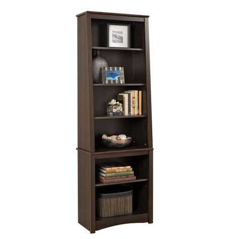 Bookcases At Home Depot by Prepac Espresso Open Bookcase Esbh 0000 1 The Home Depot