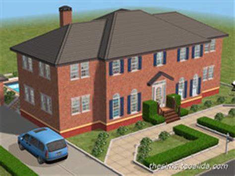 sims house downloads home ideas  floor plans
