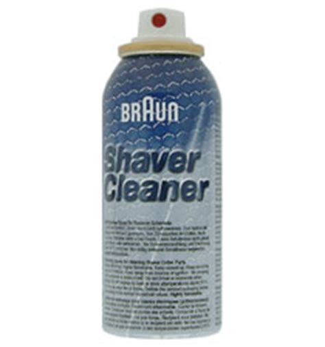 braun shaver cleaning lubricating spray shaver spares shaver spares