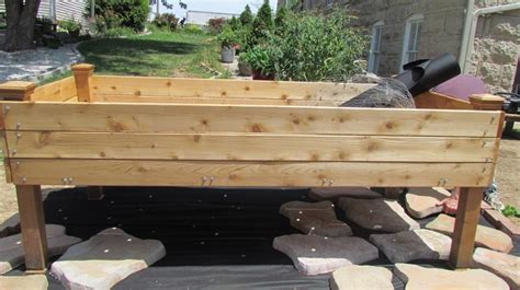 pin by haggerty jr on standing garden bed