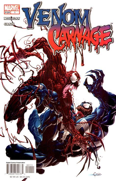 Série sony pictures universe of marvel characters venom (2018) morbius (2022) pour plus de détails, voir fiche technique et distribution venom: Venom Vs. Carnage Vol 1 1 - Marvel Comics Database