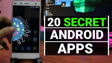 20 Secret Apps For Android! Youtube