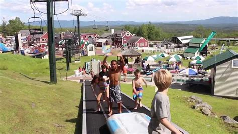 Vermonts Summer Adventure At Bromley Mountain Youtube