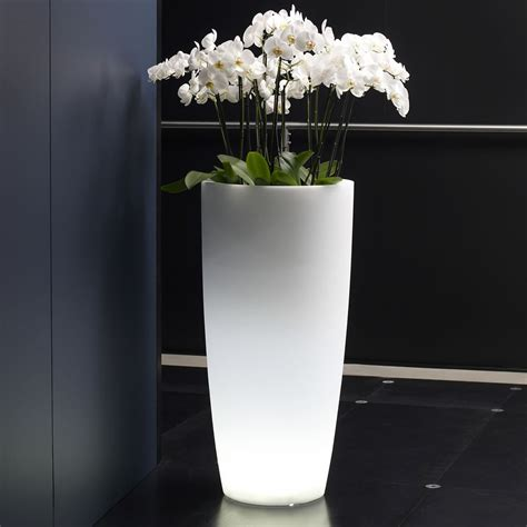 vasi led vaso luminoso per piante talos light