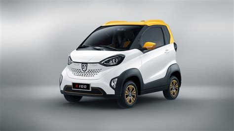 Small Electric Cars by Baojun E100 The Only 5 300 Small Electric Car From China