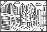 Coloring Printable Toddler Boyama Drawing Cities Draw Perspective Printables Perspektif Sketch Suasana Mewarnai Perkotaan Gambar Streets Manchester Template Urbano Dibujo sketch template
