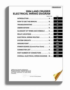 Toyota Land Cruiser 1998 2007 Electrical Wiring Diagram Service Repair Manual