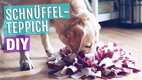 Anleitung SchnÜffelteppich  Hundespielzeug Selber Machen