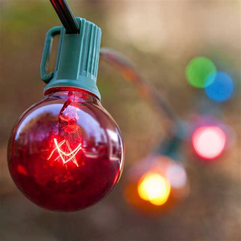 christmas lights   transparent multicolor patio lights
