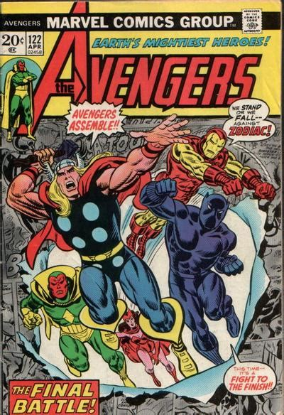 Byrne Robotics: Top 20 Avengers Comic Book Covers