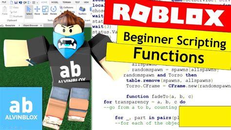 script  roblox  beginners functions