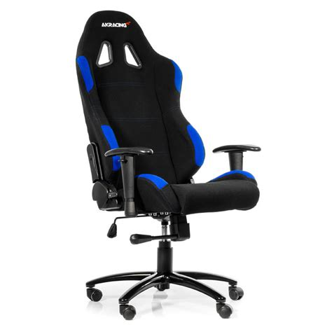 siege de gamer akracing gaming chair bleu siège pc akracing sur ldlc