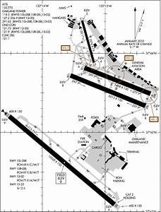 Airport Diagram Of Oakland International Airport  Oak