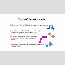 Geometry Unit 1 Transformations  Ppt Download