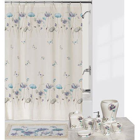 Creative Bath Shower Curtains creative bath garden gate shower curtain lilac walmart