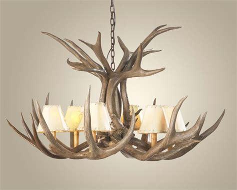 mule deer antler chandelier antler chandeliers free