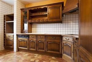 Peindre Un Mur Deja Peint Sans Poncer : repeindre meuble de cuisine en bois best cool cool ~ Dailycaller-alerts.com Idées de Décoration