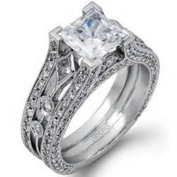 simon g engagement ring ben garelick jewelers simon g princess cut engagement ring with 1 32 carats