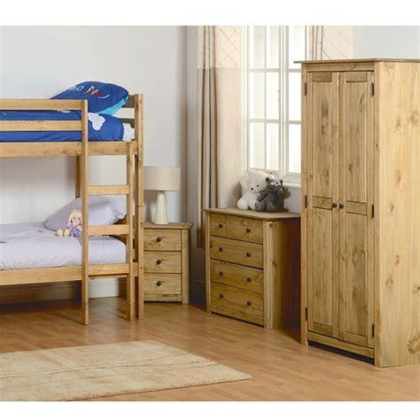 panama island bedroom furniture seconique panama solid pine 2 door wardrobe furniture123
