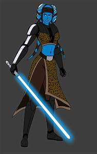 General Aayla Secura - WIP by JosephB222 on DeviantArt