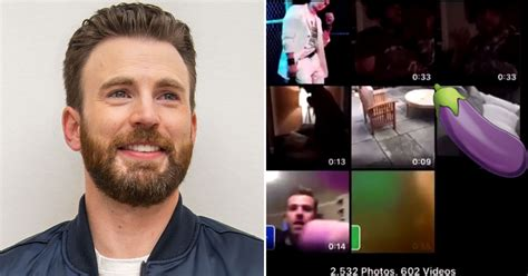 Oops! Chris Evans Accidentally Posted a Picture of His ...